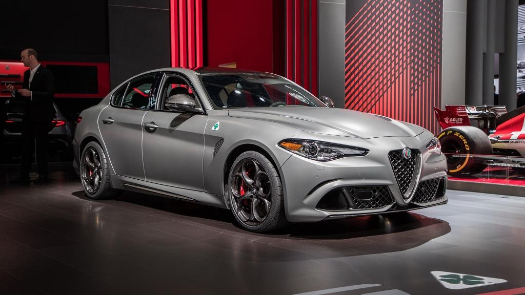 2021 Alfa Romeo Giulia Engine