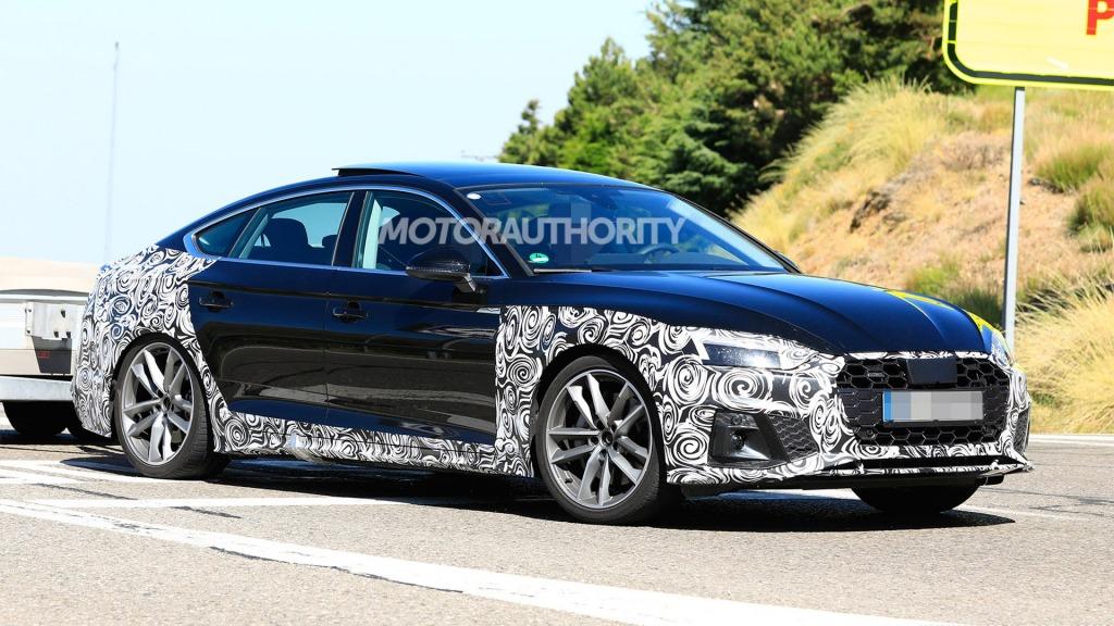 2021 Audi A5 Spy Photos