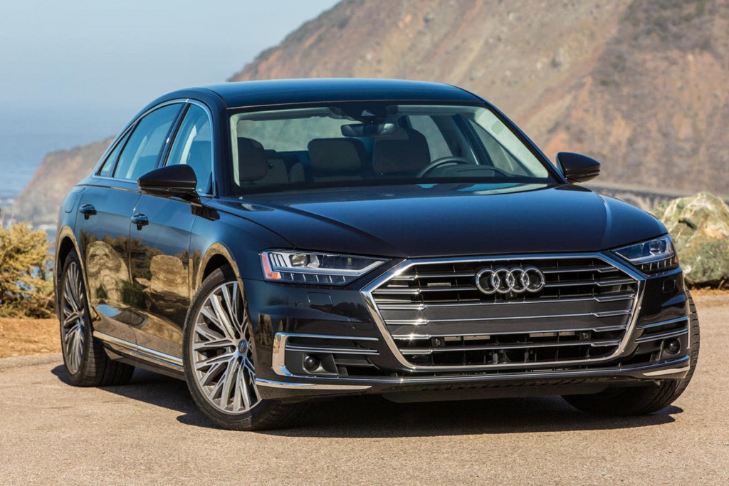 2021 Audi A8 Spy Photos