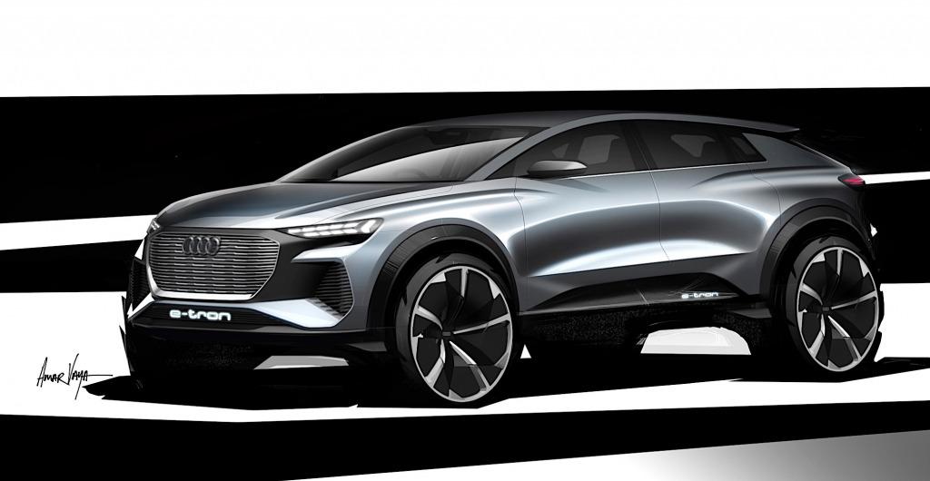 2021 Audi Q4s Concept