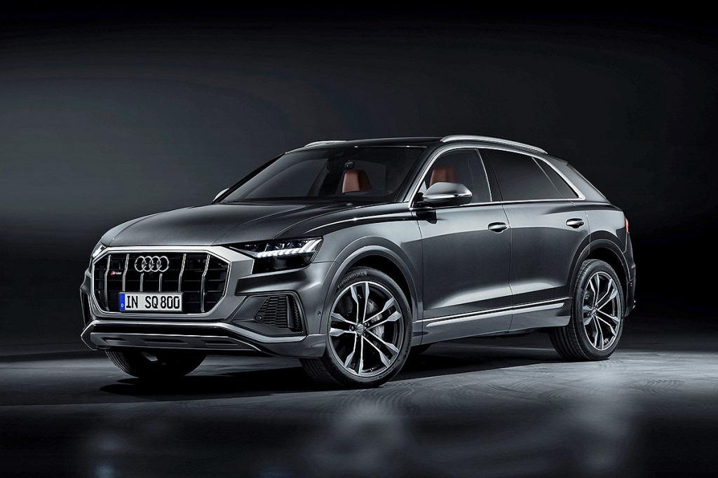 2021 Audi Q6 Spy Shots