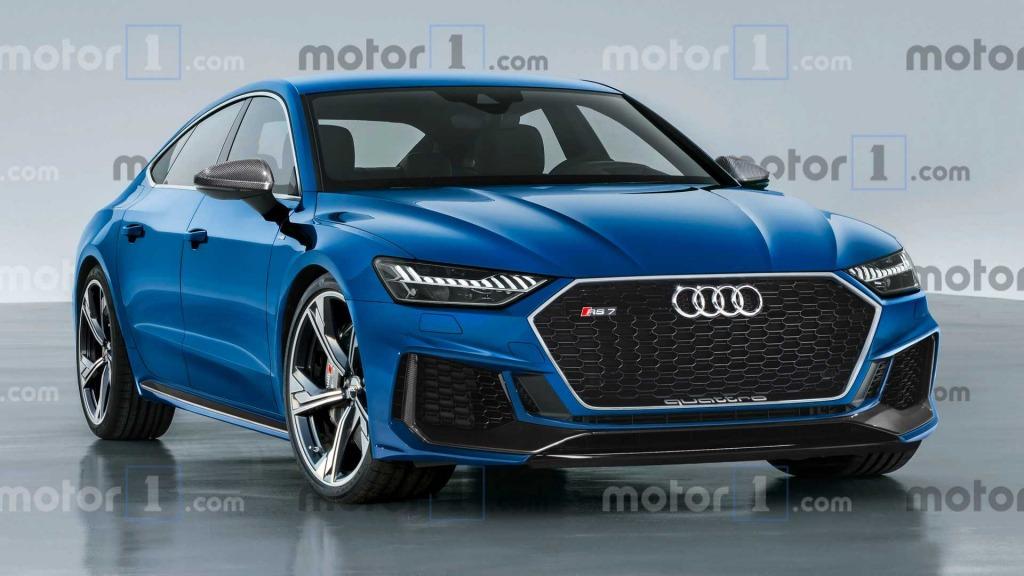 2021 Audi S7 Spy Shots
