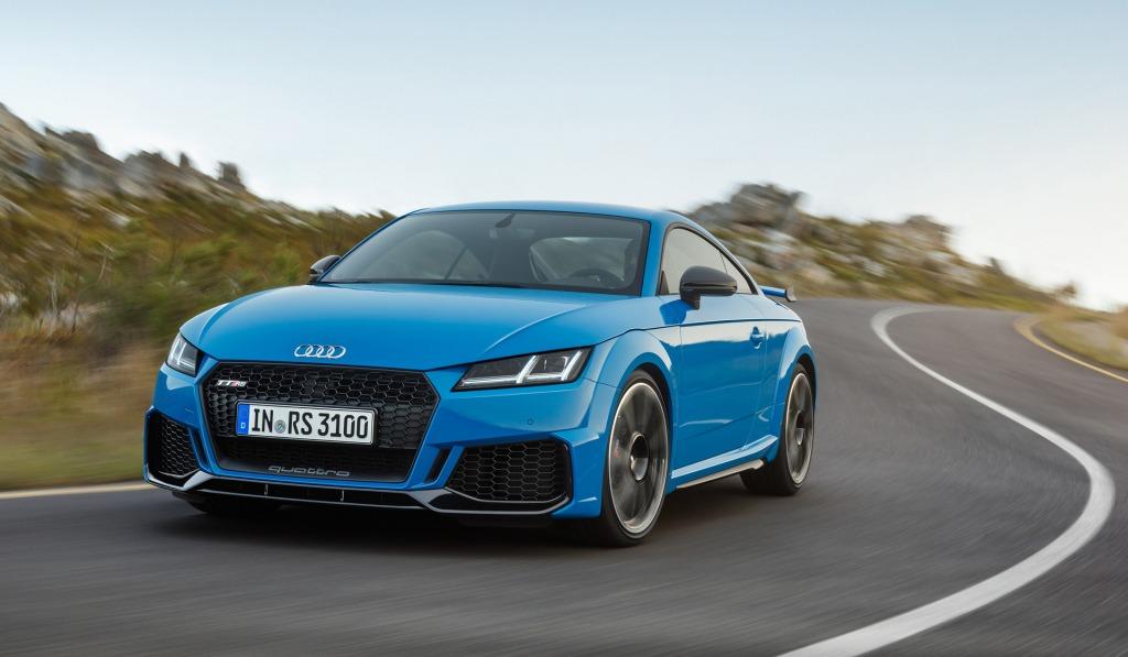 2021 Audi TTS Powertrain