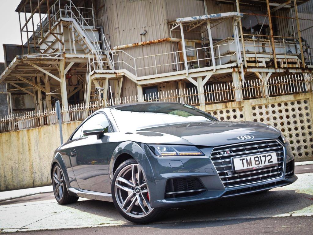 2021 Audi TTS Wallpaper