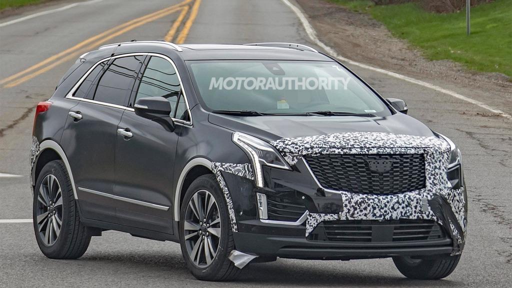 2021 Cadillac XT5 Spy Shots