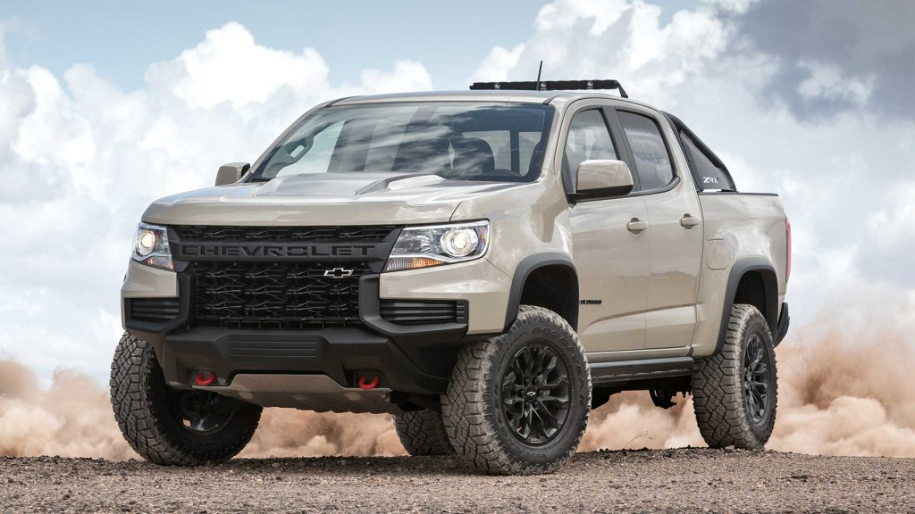 2021 Chevy Colorado Spy Shots