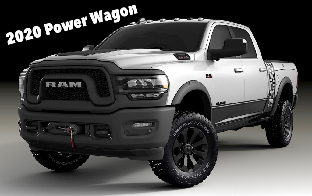 2021 Dodge Power Wagon Exterior