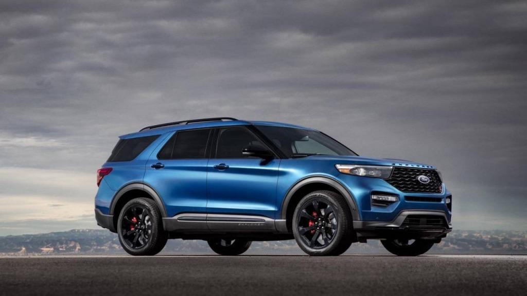 2021 Ford Explorer Drivetrain