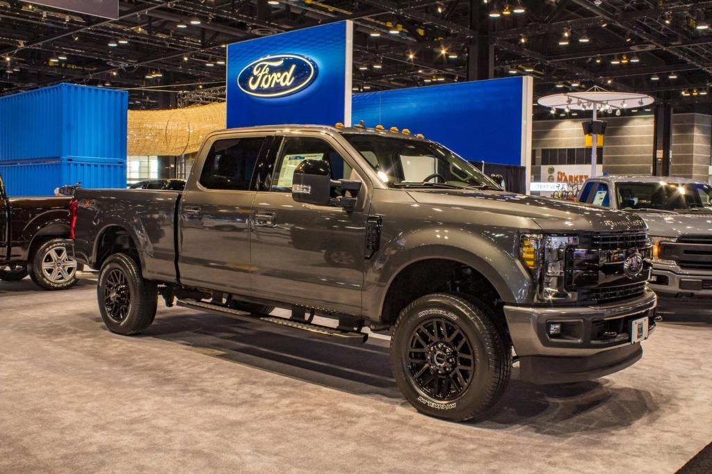 2021 Ford F250 Spy Photos