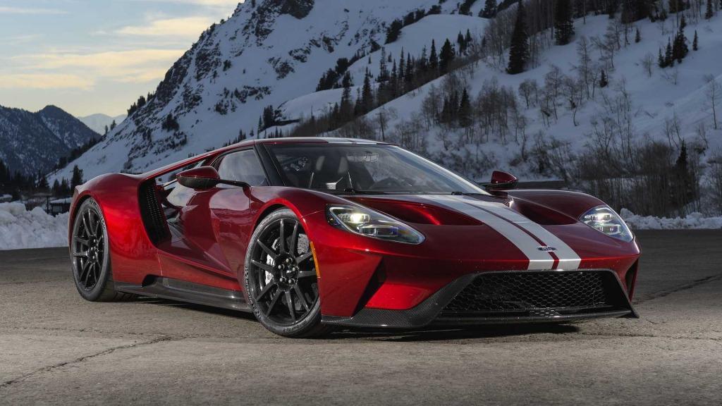 2021 Ford Gt Supercar Powertrain