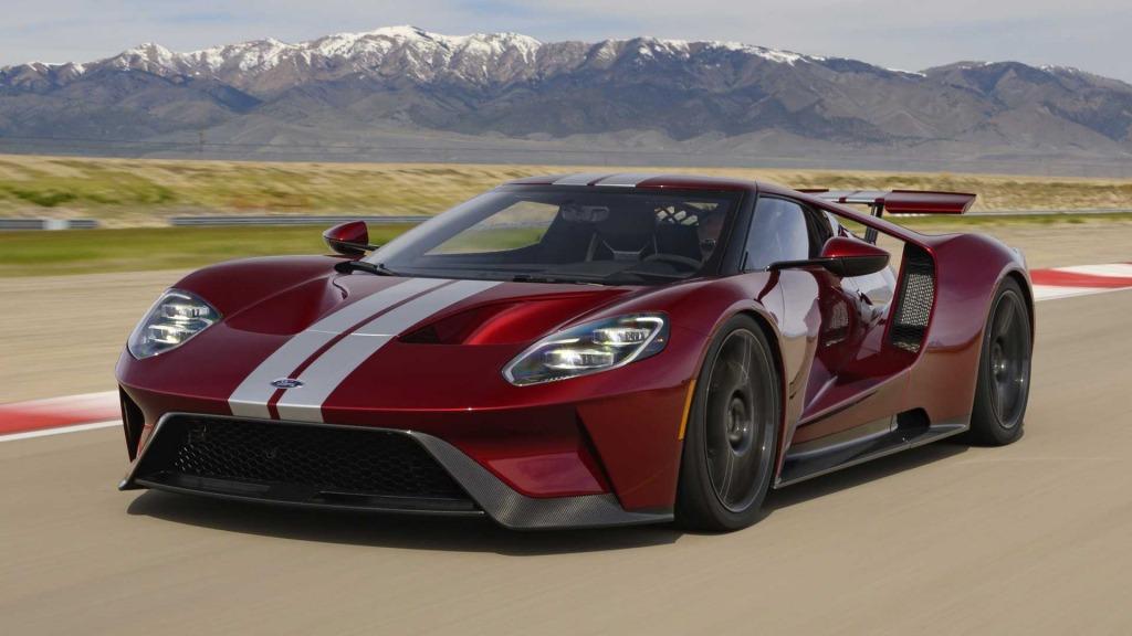2021 Ford Gt Supercar Spy Shots