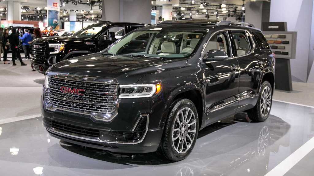 2021 GMC Acadia Powertrain