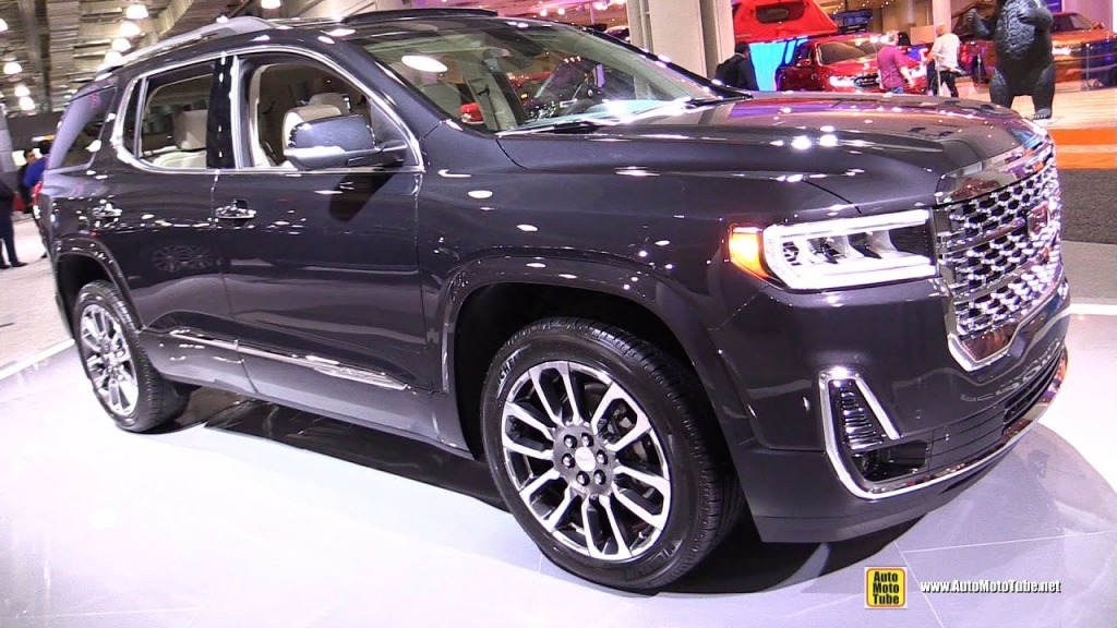 2021 GMC Acadia Release Date