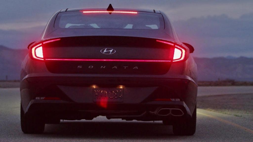 2021 Hyundai Sonata Drivetrain