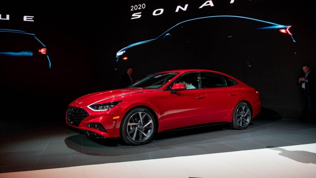 2021 Hyundai Sonata Powertrain