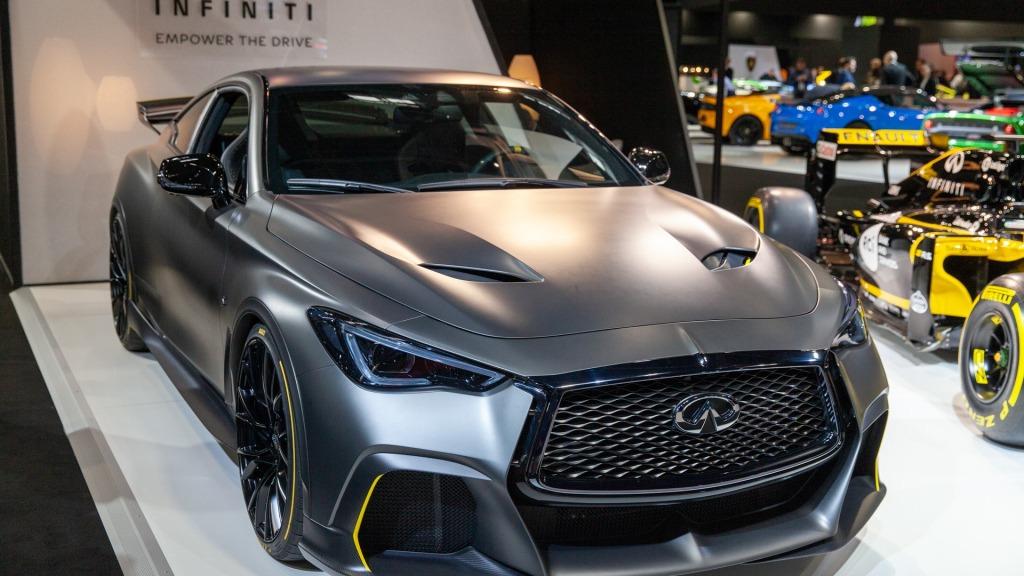 2021 Infiniti Q60s Interior