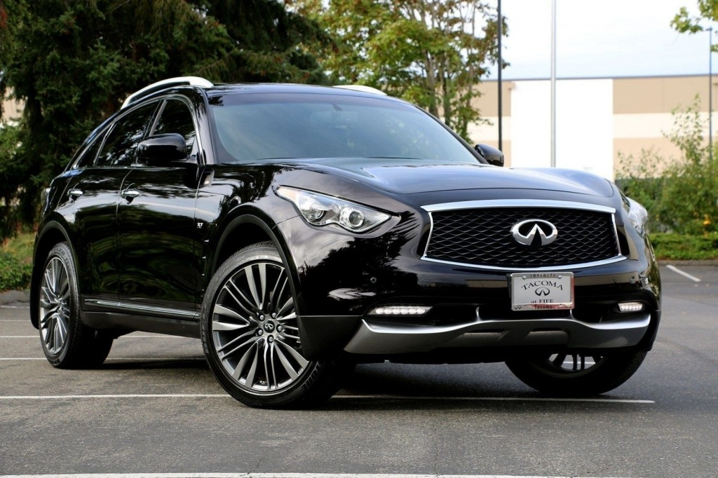 2021 Infiniti QX70 Engine