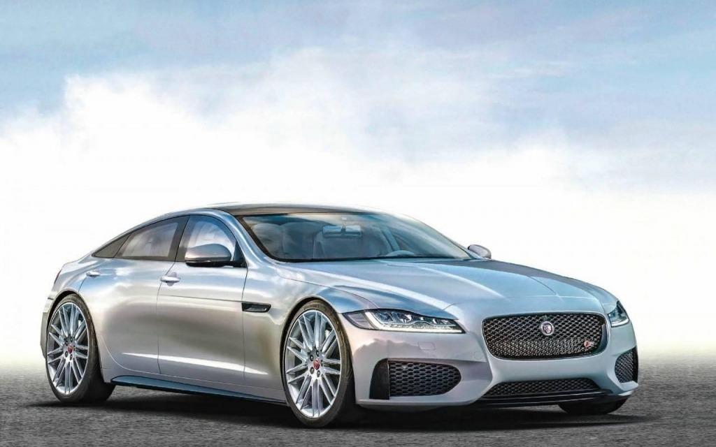 2021 Jaguar XQs Exterior