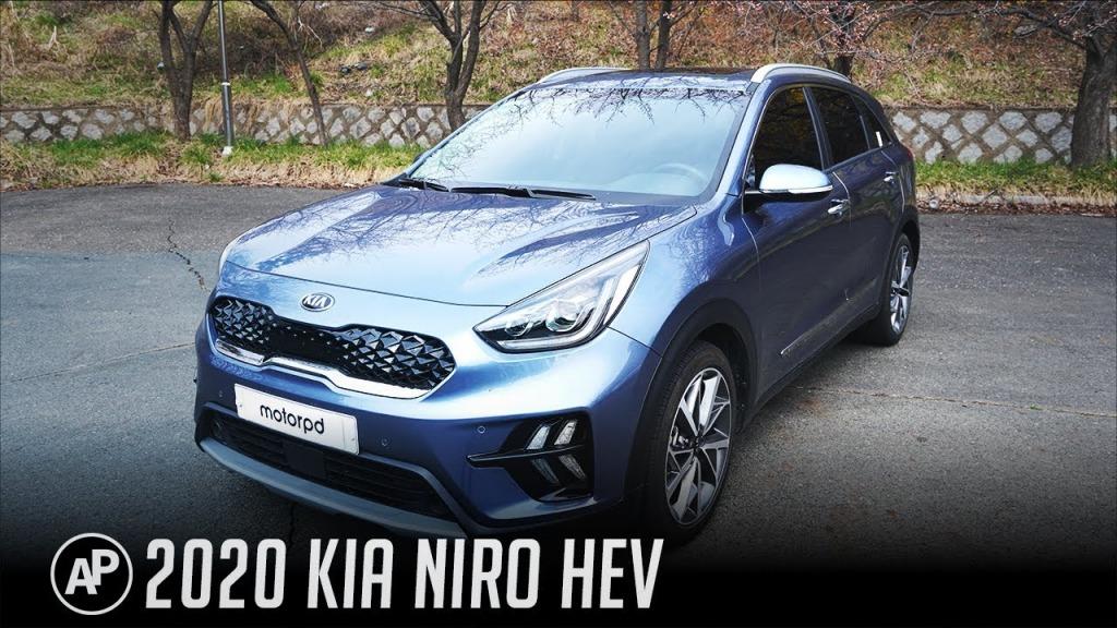 2021 Kia Niro Spy Photos