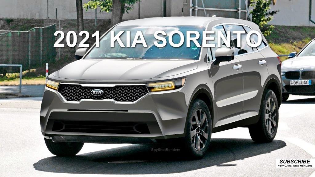 2021 Kia Sorento Spy Shots