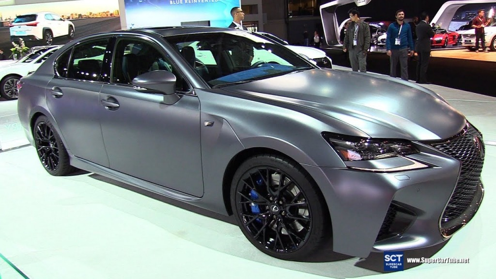 2021 Lexus GS F Spy Shots