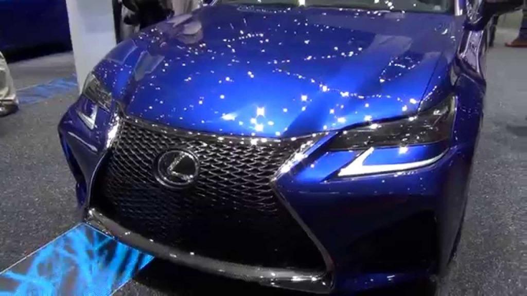 2021 Lexus GS F Spy Shots