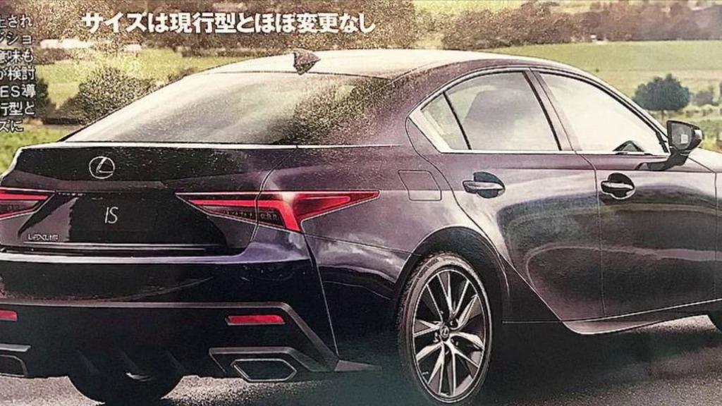 2021 Lexus IS350 Drivetrain