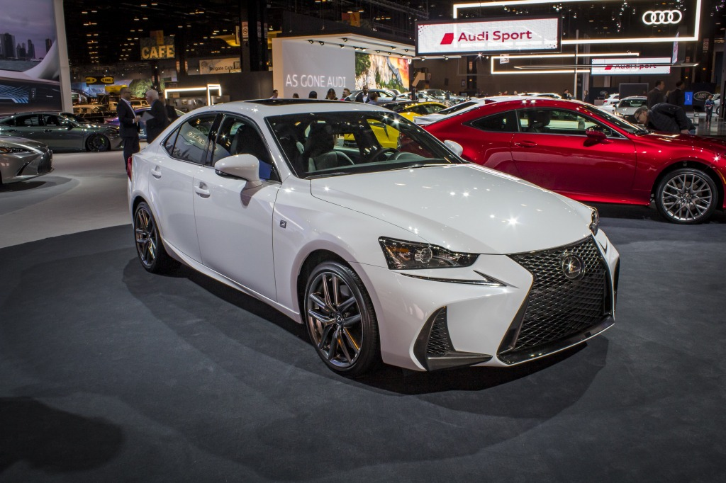 2021 Lexus IS350 Specs