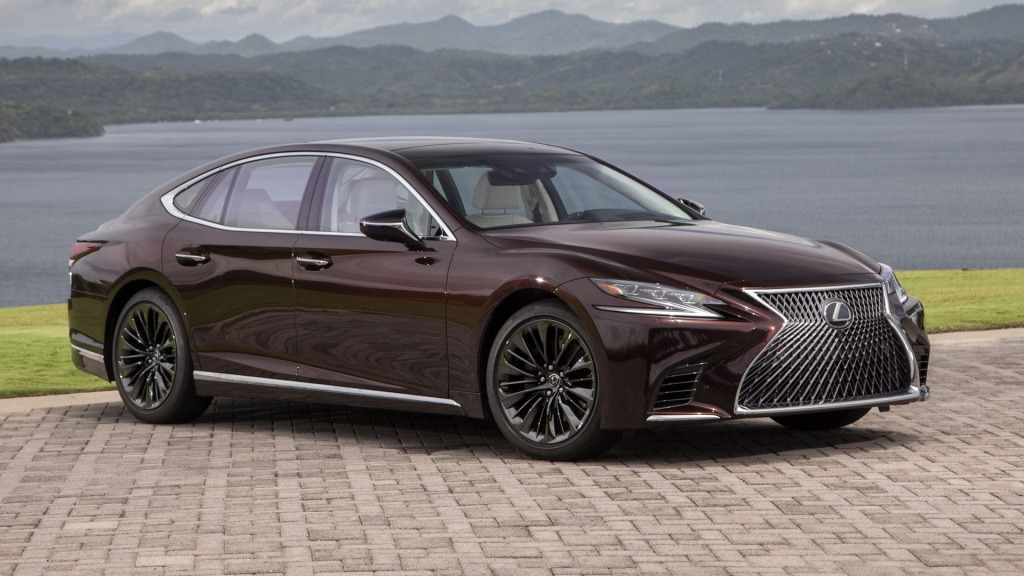 2021 Lexus LS Spy Shots