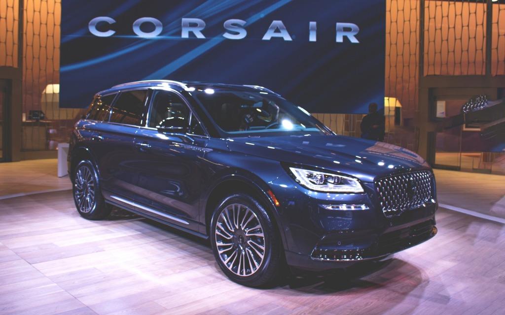 2021 Lincoln MKC Interior