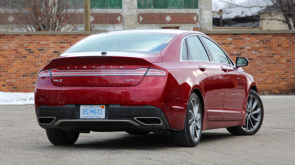 2021 Lincoln MKS Exterior