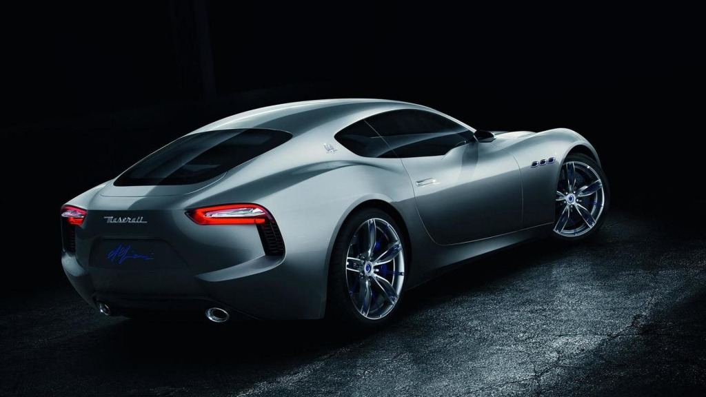 2021 Maserati Granturismo Drivetrain