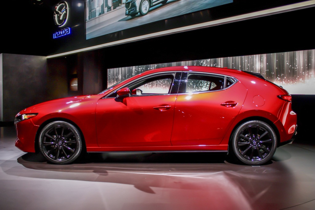 2021 Mazda 3 Sedan Spy Photos