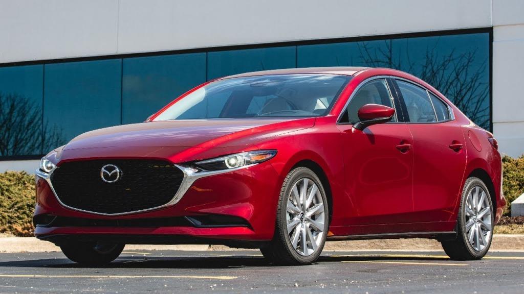 2021 Mazda 3 Sedan Wallpaper