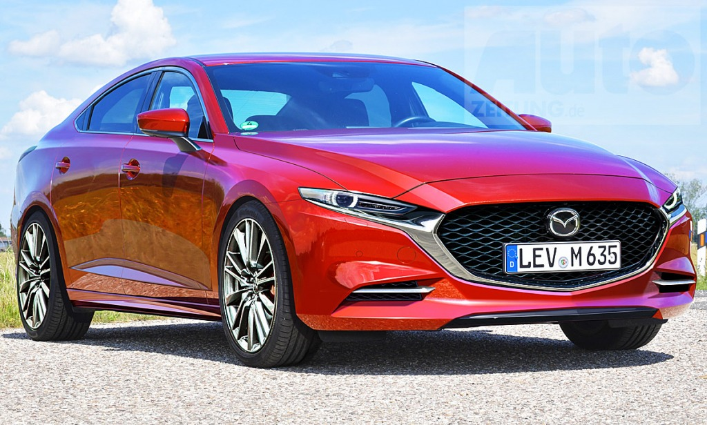 2021 Mazda 6 Spy Photos