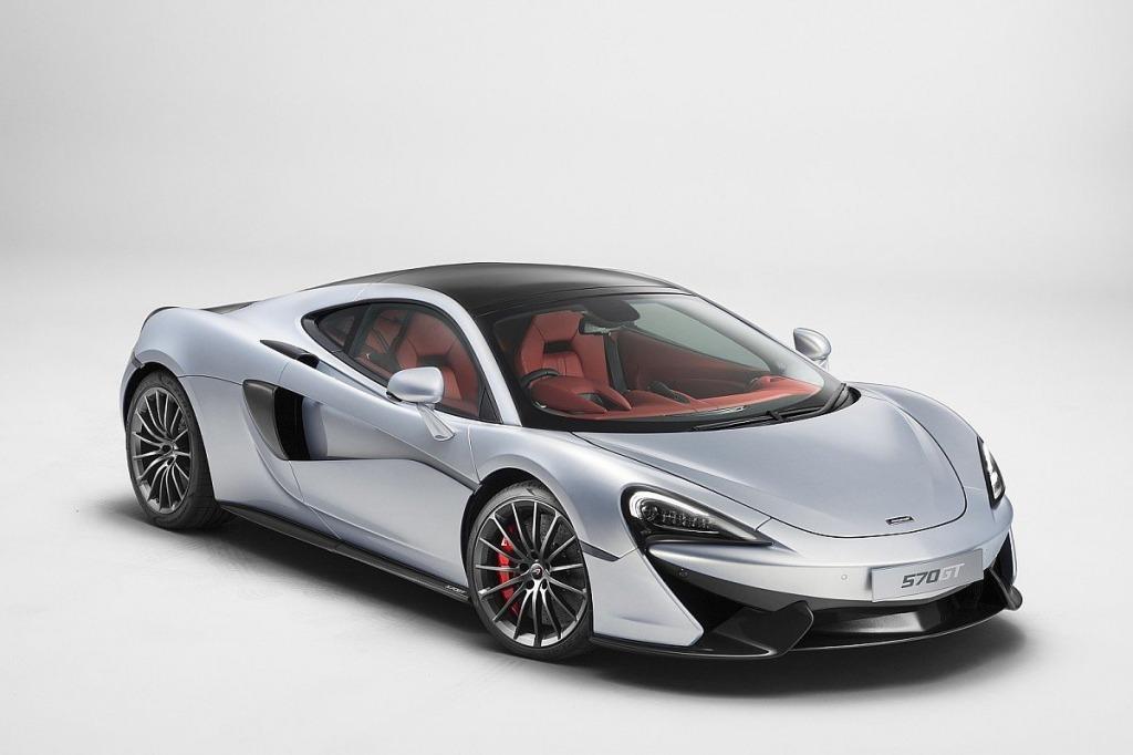 2021 McLaren 570S Coupe Powertrain