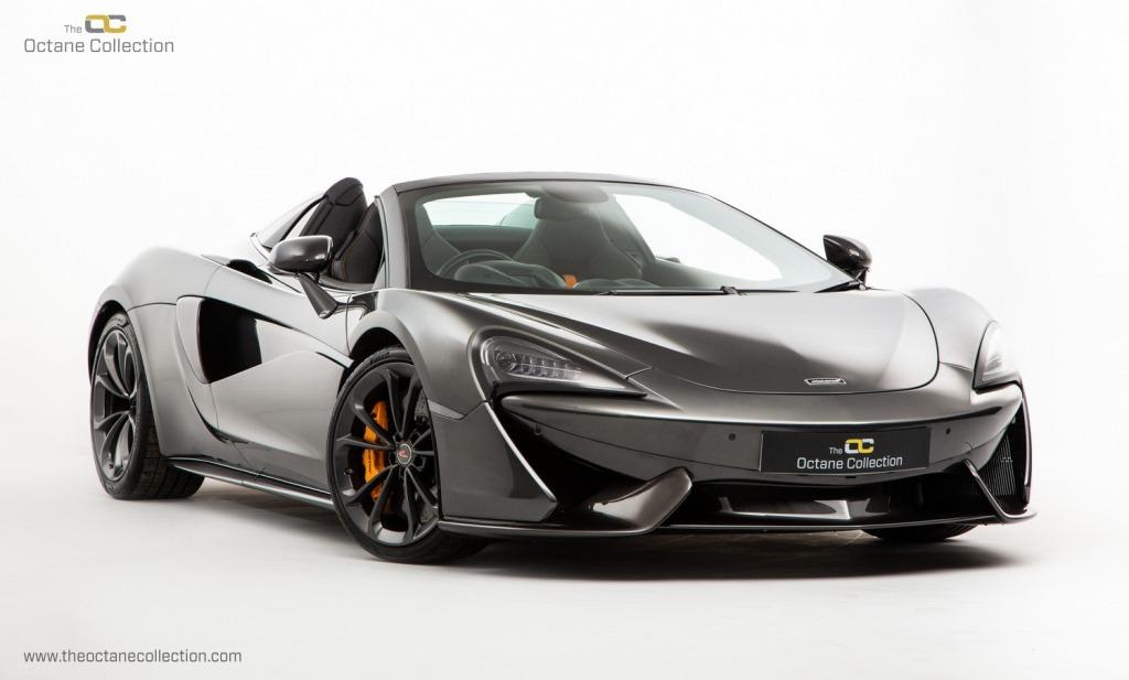 2021 McLaren 570S Coupe Spy Photos