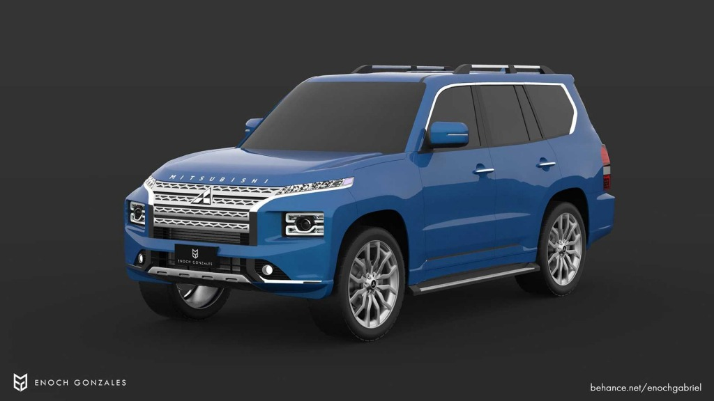 2021 Mitsubishi Montero Wallpapers