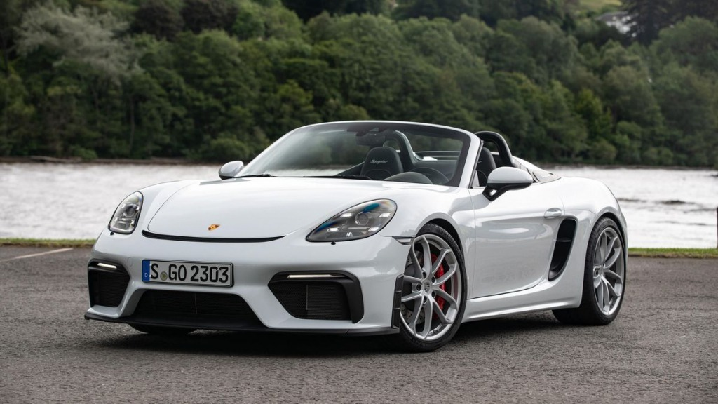 2021 Porsche Boxster Spyder Spy Photos