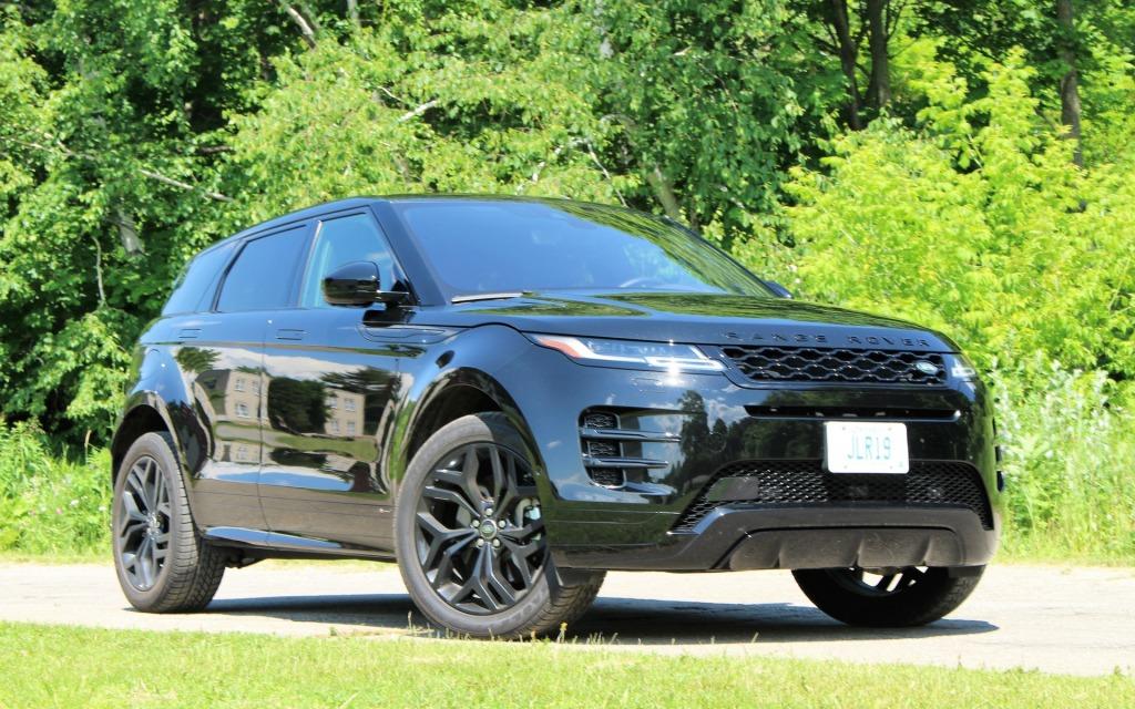 2021 Range Rover Evoque Powertrain