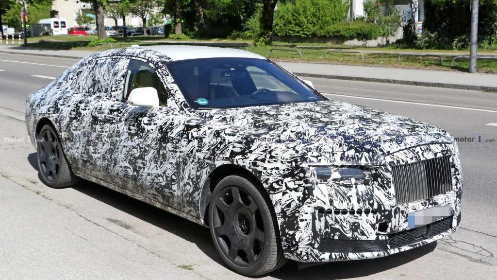 2021 Rolls Royce Wraith Spy Shots