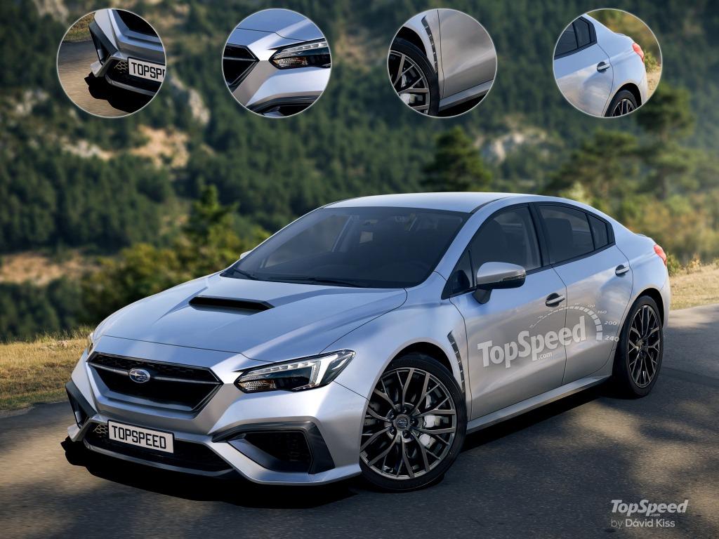 2021 Subaru Impreza Spy Photos