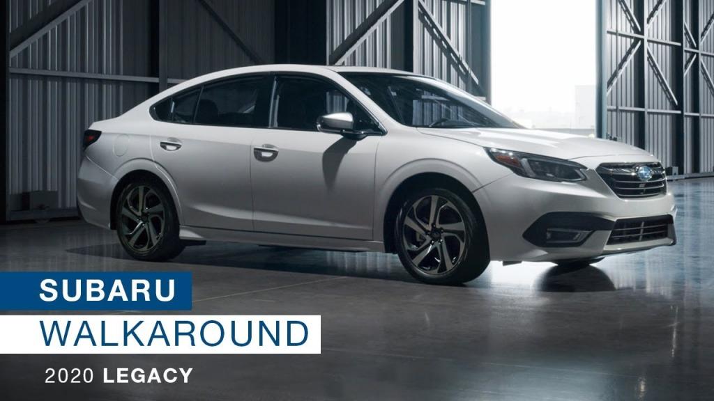 2021 Subaru Legacy Engine