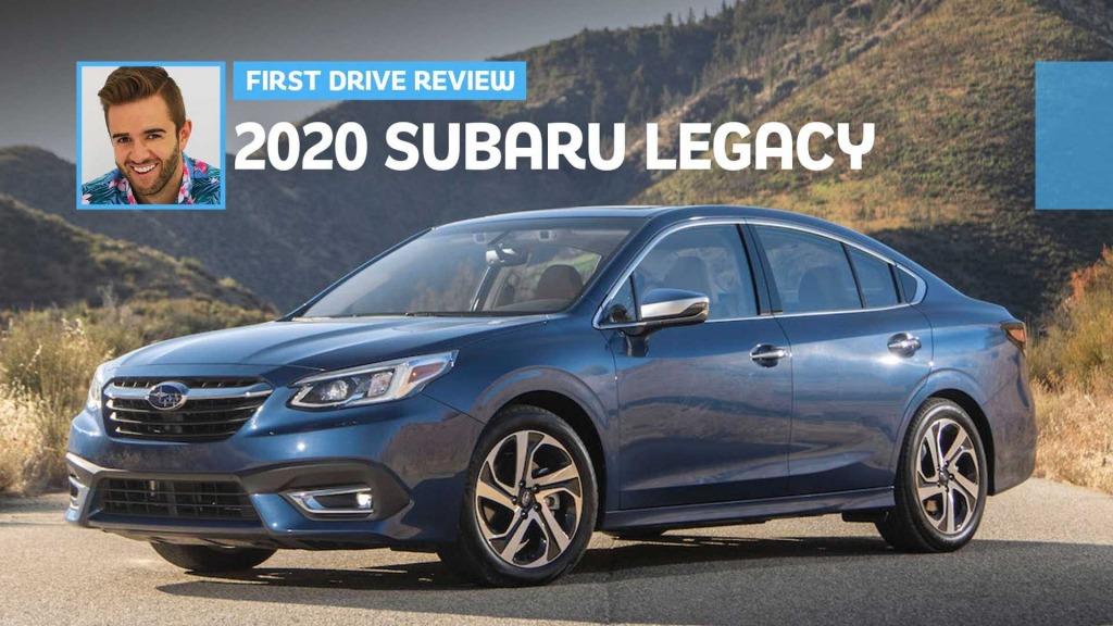 2021 Subaru Legacy Interior