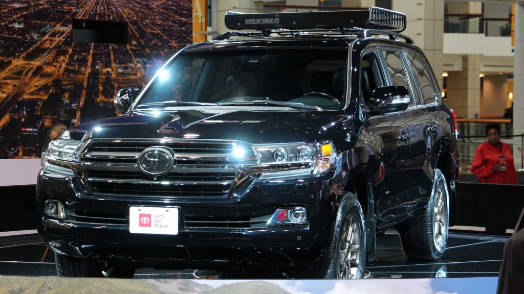 2021 Toyota Land Cruiser Powertrain