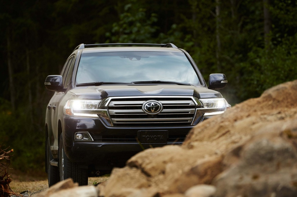 2021 Toyota Land Cruiser Spy Shots