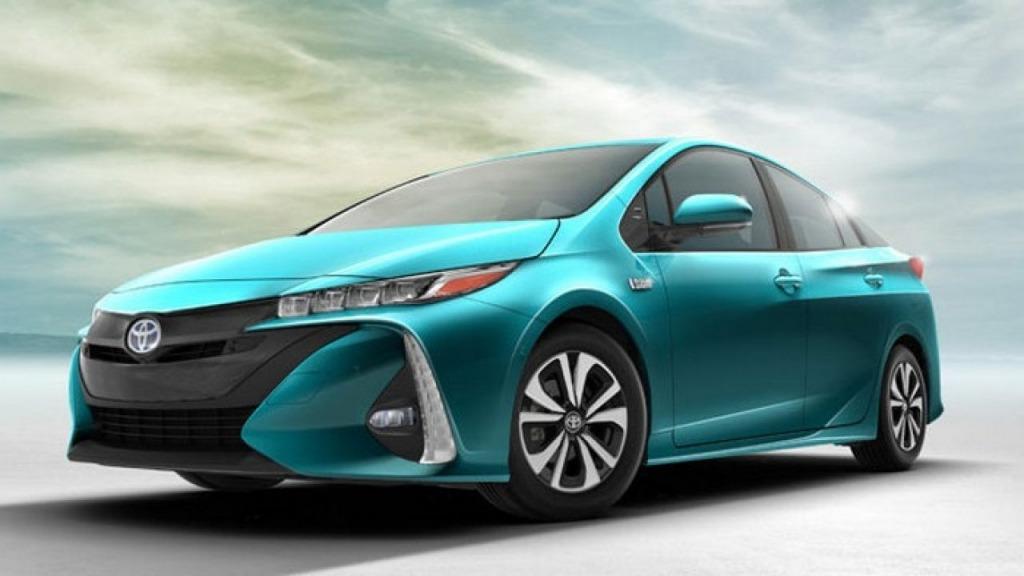 2021 Toyota Prius Powertrain