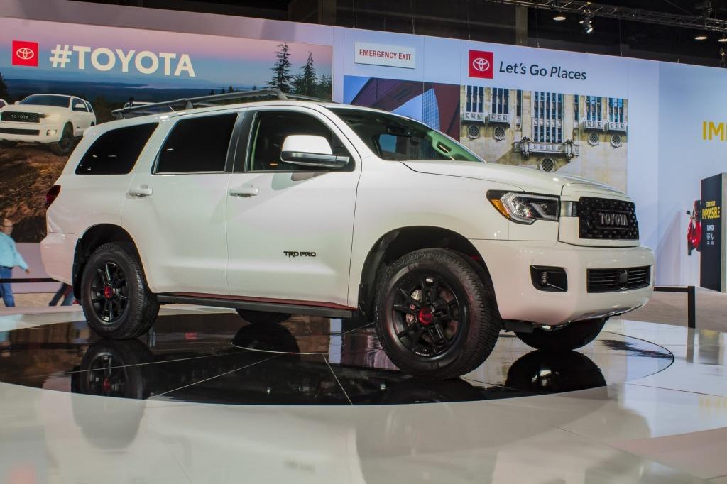 2021 Toyota Sequoias Engine