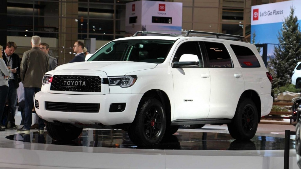 2021 Toyota Sequoias Exterior
