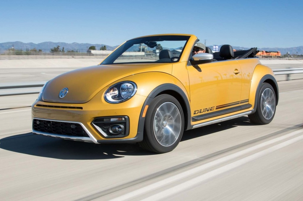 2021 Volkswagen Beetle Convertible Spy Photos | New Cars Zone